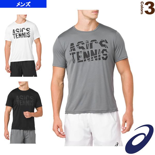 57fcdf5abf18cd [アシックス テニス・バドミントン ウェア(メンズ/ユニ)]プラクティスショートスリーブトップ