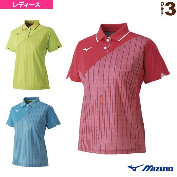 ミズノ テニス バドミントン ウェア 62JA9212 ゲームシャツ 商品 レディース ギフ_包装