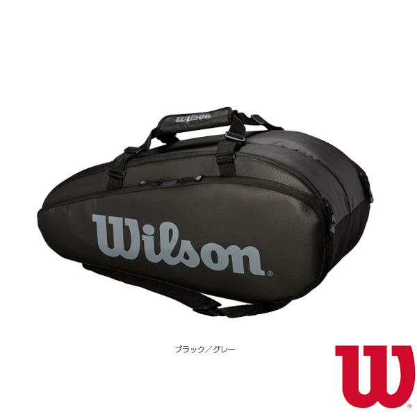 [ウィルソン テニス バッグ]TOUR 2 COMP LARGE BKGY/ラケット9本収納可(WRZ849309)
