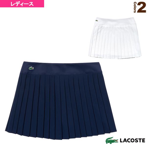 [ラコステ テニス・バドミントン ウェア(レディース)]SKIRTS/スカート/レディース(JF9541L)LACOSTE