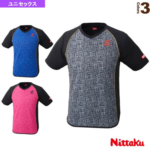 [ニッタク 卓球 ウェア(メンズ/ユニ)]デジックシャツ/ユニセックス(NW-2185)