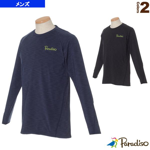 [パラディーゾ テニス・バドミントン ウェア(メンズ/ユニ)]長袖ゲームシャツ/メンズ(QCM04F)