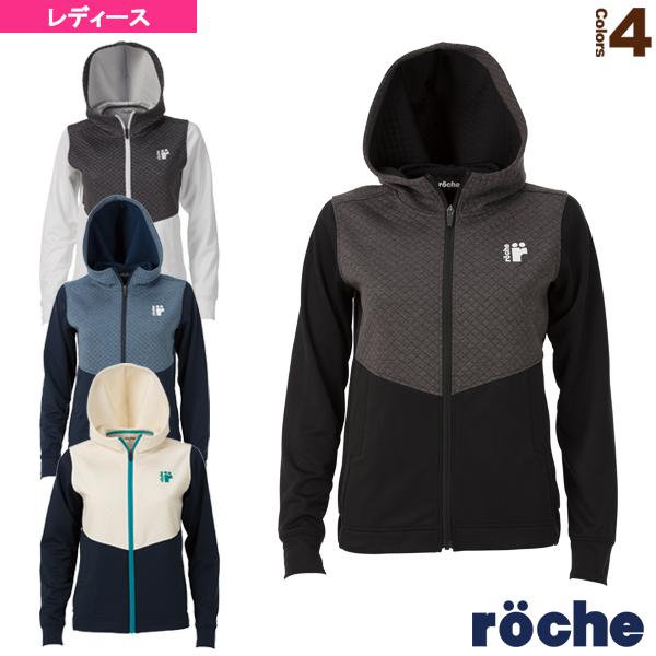 [ローチェ(roche) テニス・バドミントン ウェア(レディース)]ジャージフーディジャケット/レディース(R9A44J)