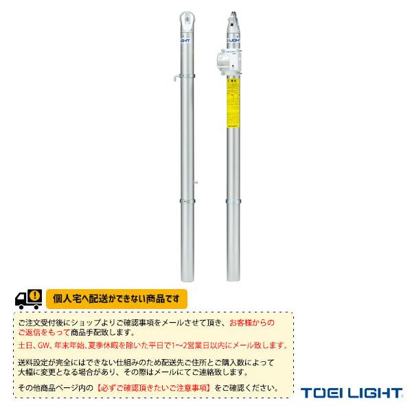 [TOEI(トーエイ) テニス コート用品][送料別途]アルミテニス支柱/屋外用差込式/2本1組(B-2812)