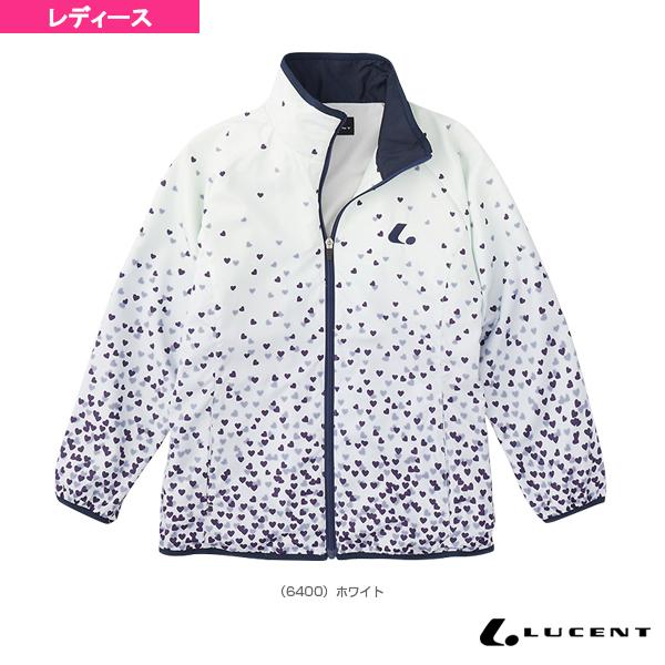 [ルーセント テニス・バドミントン ウェア(レディース)]ウィンドウォーマーシャツ/レディース(XLW-640)