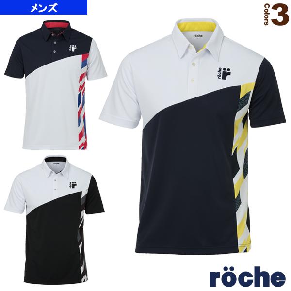 限定特価 ローチェ roche テニス バドミントン ウェア ゲームシャツ お気に入 RA021 メンズ ユニ