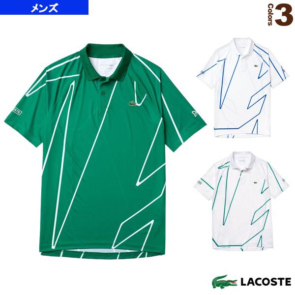 輝い [ラコステ テニス・バドミントン ウェア(メンズ/ユニ)]NOVAK DJOKOVIC/POLOS/ポロシャツ/メンズ(DH6235L)LACOSTE選手着用モデル, ウメマチ b3d7bad2
