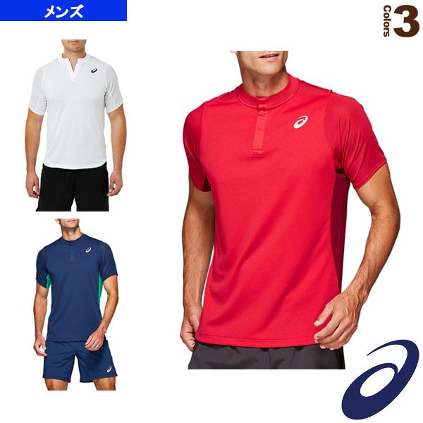 アシックス テニス バドミントン 人気ブランド ウェア メンズ 2041A093 GEL-COOL ユニ 卸売り ポロシャツ