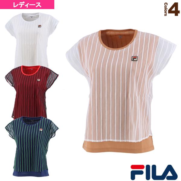 テニス・バドミントン [フィラ ウェア(レディース)]ゲームシャツ/レディース(VL2315)