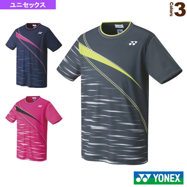 [ヨネックス テニス・バドミントン ウェア(メンズ/ユニ)]ゲームシャツ/フィットスタイル/ユニセックス(10410)