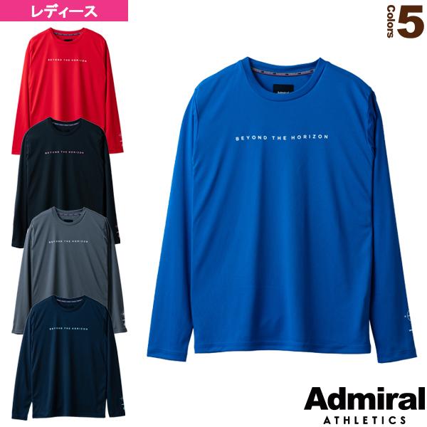 [アドミラル(Admiral) テニス・バドミントン ウェア(レディース)]プラクティスプリント ロングスリーブTシャツ/レディース(ATLA140)