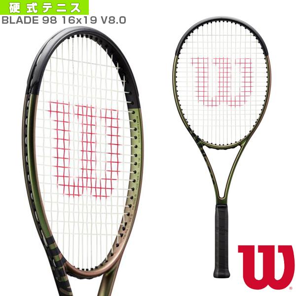 ウィルソン テニス ラケット 2021年10月下旬再入荷 予約 BLADE 98 16x19 ブレード 再入荷 予約販売 V8.0 メーカー再生品 WR078711
