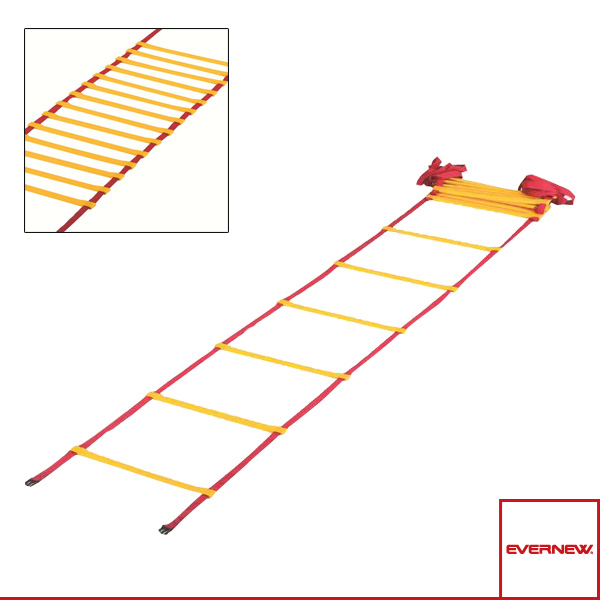[エバニュー オールスポーツ トレーニング用品]ラダーロープ 8m(EGA497)