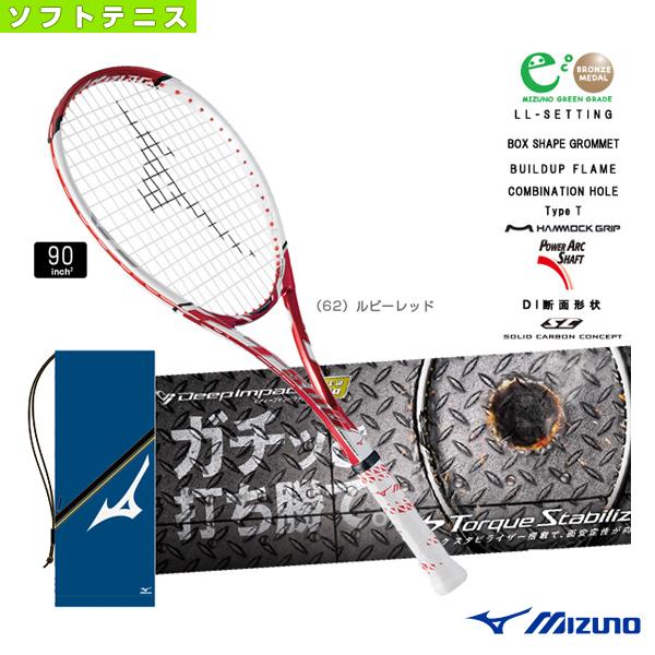[ミズノ [ミズノ ソフトテニス T-500/Deep ラケット]ディープインパクト T-500/Deep ソフトテニス Impact T-500(63JTN672)軟式ラケット軟式テニスラケットコントロール, ground(グラウンド):a311aafc --- data.gd.no