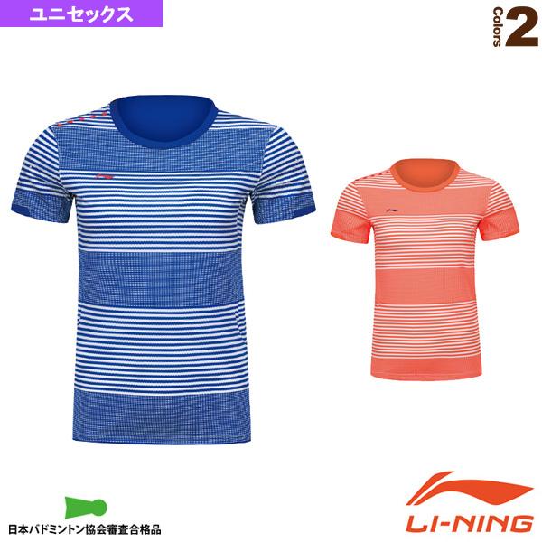 リーニン テニス バドミントン ウェア メンズ AAYK075 国内在庫 ランキングTOP5 中国ナショナルチームゲームシャツ ユニセックス ユニ