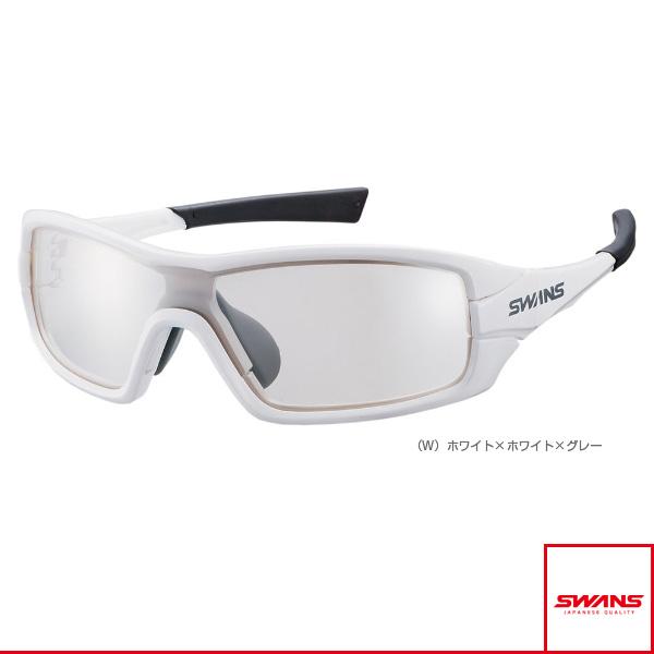 [スワンズ オールスポーツ アクセサリ・小物]STRIX・I(ストリックス・アイ)ミラーレンズモデル/ホワイト/シルバーミラー×クリア(STRIX I-0712 W)