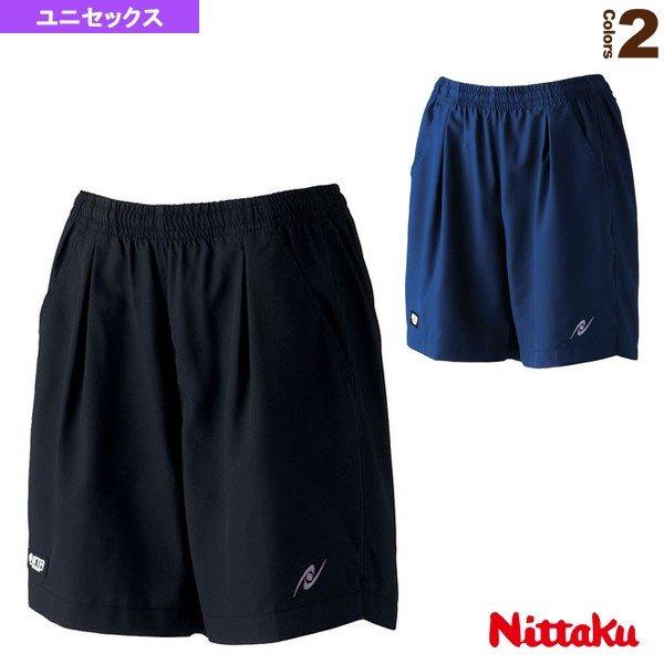 (訳ありセール 格安) エントリーでポイント5倍 ニッタク 卓球 ウェア メンズ NW-2482 日本 ユニ セモリアショーツ ユニセックス