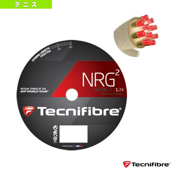 [テクニファイバー テニス ストリング(ロール他)]NRG2 200m/エヌアールジースクエア 200mロール(TFR904/TFR905)ガットロールガットマルチフィラメント