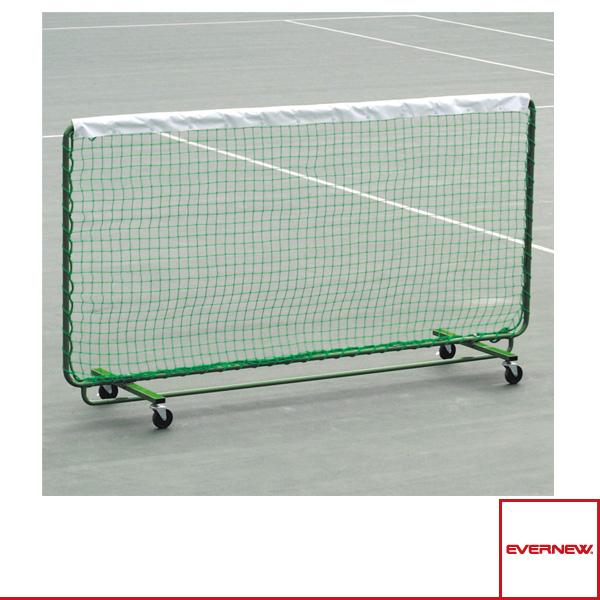 [エバニュー テニス コート用品][送料別途]テニス トレーニングネット白帯付 C(EKE678)