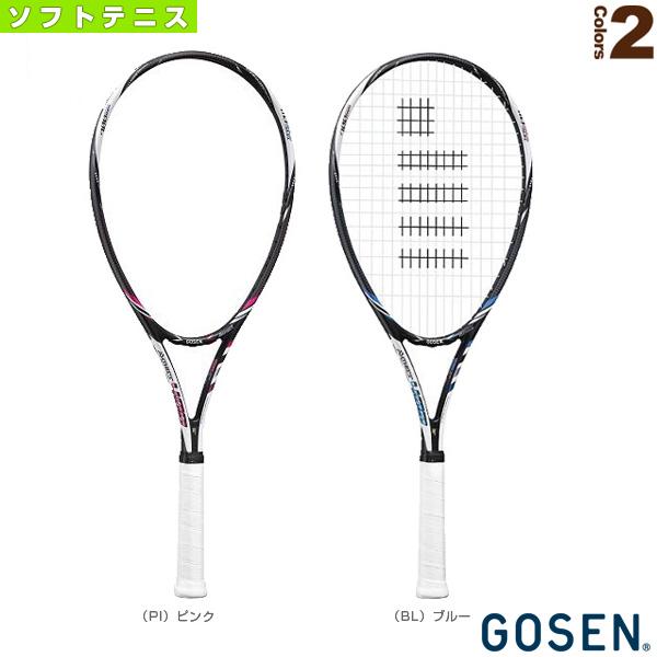[ゴーセン ソフトテニス ラケット]AXTHIES 400/アクシエス 400(SRA4)軟式(前衛後衛共通)
