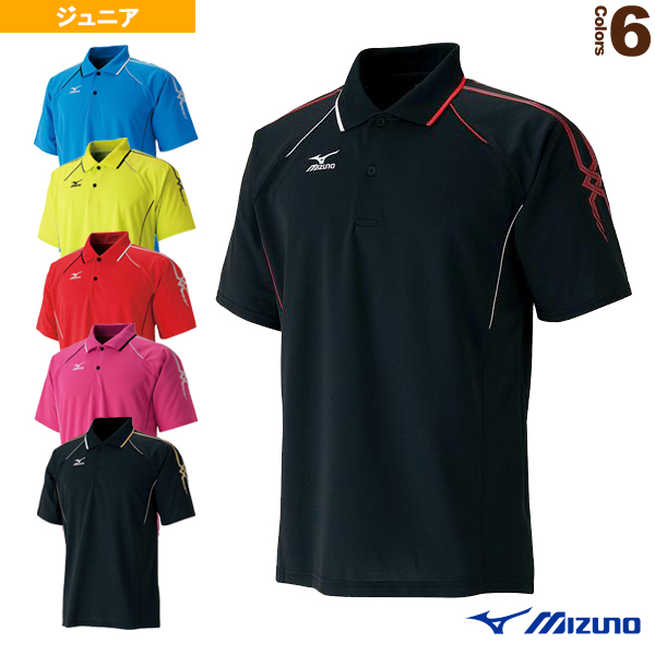 [ミズノ テニス ジュニアグッズ]ゲームシャツ/ジュニア(62MA5018)子供用ジュニア用ジュニアウェアテニスウェア