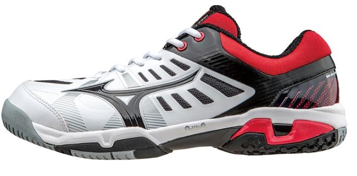 Tennis shoes, Mizuno MIZUNO WebEx seed SS wide OC WAVE EXCEED SS WIDE OC 61GB151409 sand into people engineering clay-court turf (4 types)
