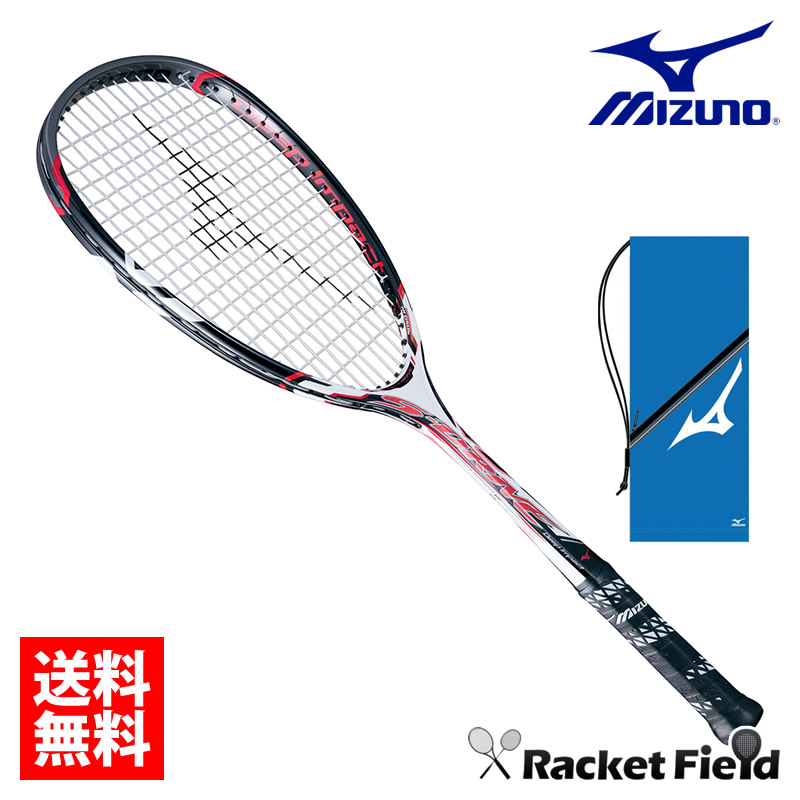 【ガット代・張り代・送料全て無料!!】ミズノ MIZUNO ソフトテニスラケット Deep ImpactS-DRIVE (ディープインパクトSドライブ)(63JTN65001) 【後衛】【テニスラケット ソフトテニス ラケット 軟式テニス 軟式テニスラケット】 送料無料 ケース付き ガット代張り代込