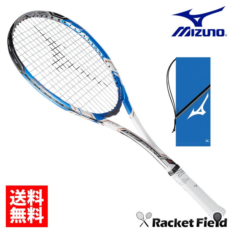 ミズノ ソフトテニスラケットDI T-500(63JTN74527)前衛向け ケース付き 送料無料 ガット代・張り代無料 MIZUNO ソフトテニス ラケット 前衛 ソフトテニス ラケット ミズノ テニスラケット軟式 軟式テニスラケット ミズノ