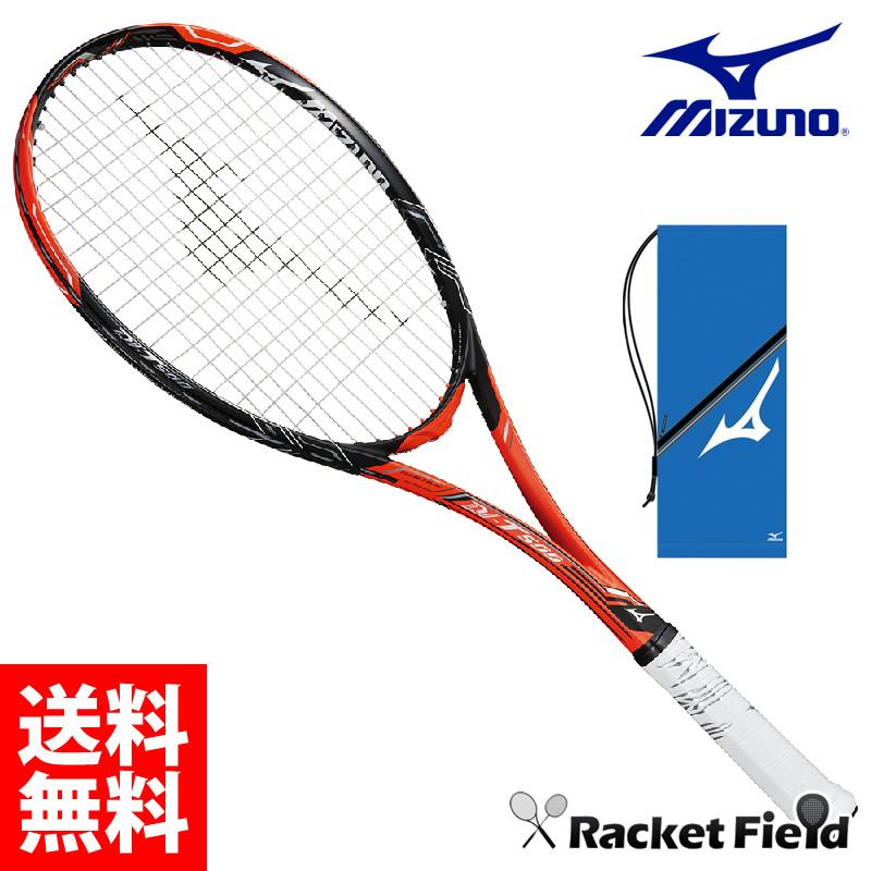 ミズノ ソフトテニスラケットDI T-500(63JTN84554)前衛向け ケース付き MIZUNO ガット代・張り代込 送料無料 2018SS ソフトテニス ラケット 前衛