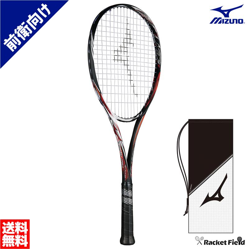 ミズノ ソフトテニスラケット スカッドプロシー(63JTN852)SCUD PRO-C 前衛モデル ガット代・張り代・送料無料 最新モデル MIZUNO 2018SS ソフトテニス ラケット 前衛