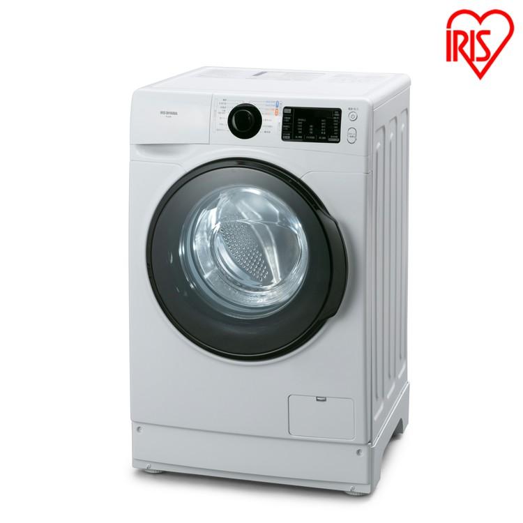 ドラム式洗濯機 8.0kg ホワイト FL81R-W送料無料 ドラム式洗濯機 洗濯機 ドラム式 温水 全自動 部屋干し タイマー 衣類 洗濯 ランドリー ドラム式 温水洗浄 温水コース なるほど家電 白物家電 アイリスオーヤマ