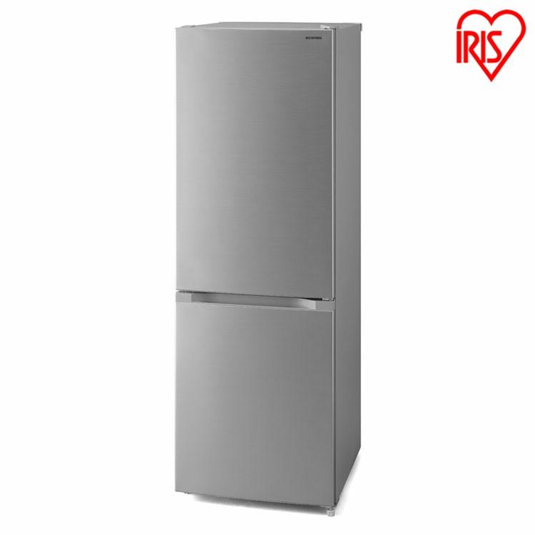 冷蔵庫 231L シルバー IRSN-23A-S送料無料 冷蔵庫 冷凍庫 大容量 BIG 大きい ドア閉め忘れアラーム アラーム付き 静か シンプル 一人暮らし 1K 家電 2ドア 省エネ 新鮮 2ドア 1人暮らし アイリスオーヤマ