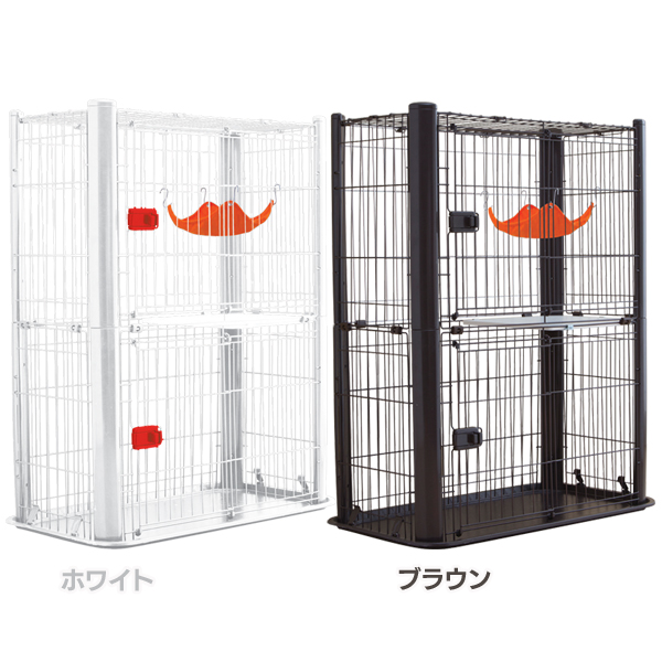 【送料無料】カラースリムケージ 2段 P-CSC-902 アイリスオーヤマ[cpir]