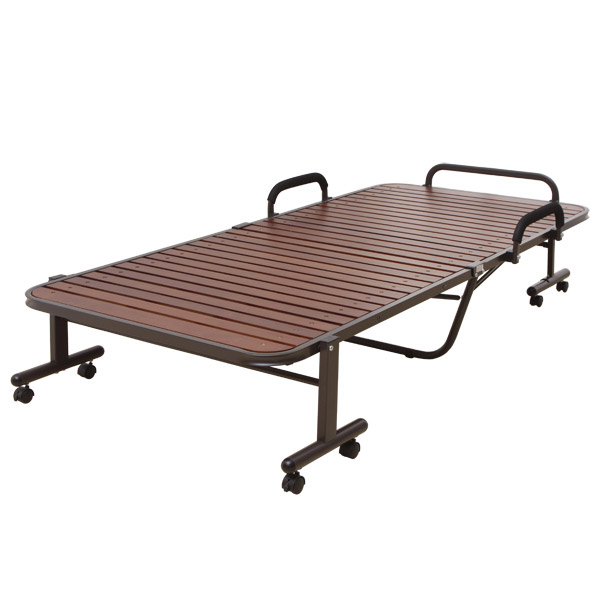 ハイタイプ折りたたみすのこベッド シングル OTB-WH ブラウン アイリスオーヤマ折りたたみベッド すのこベッド シングル 折り畳みベッド ベッド すのこ 折りたたみ 折り畳み【敬】[cpir]