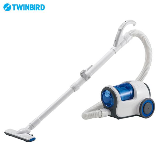 【送料無料】TWINBIRD 〔ツインバード〕 家庭用クリーナーデュアルドラムサイクロン YC-T009BL ブルー【D】【取寄せ品】