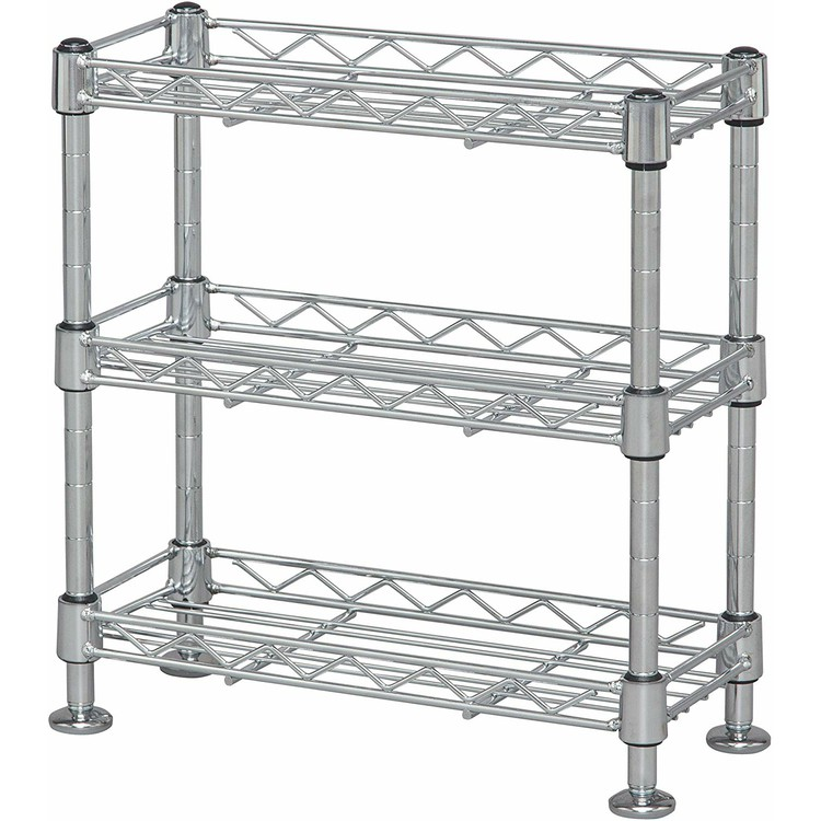 Seasoning rack three steps width 30 KR-303 [width 30* depth 12* 31.5cm in  height] seasoning Lux pice rack kitchen rack mini-storing kitchen rack ...