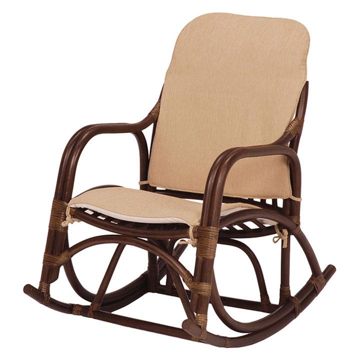 【送料無料】【チェアー】ロッキングチェアー【椅子 イス】 RRC-865DBR【TD】【HH】【代引不可】