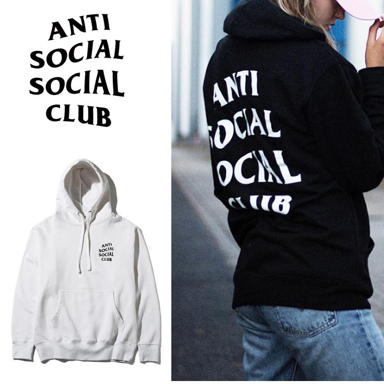 アンチソーシャルソーシャルクラブ パーカー フーディー ANTI SOCIAL SOCIAL CLUB メンズ レディース ORIGINAL LOGO HOODIE メンズ レディース フーディー パーカー ストリート17-70-10-004