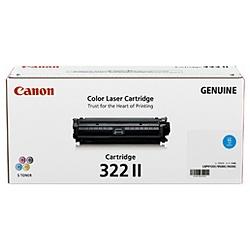 【純正品】CANON(キャノン) トナーカートリッジ CRG-322II シアン 2651B001