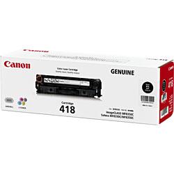 【純正品】CANON(キャノン) トナーカートリッジ418 (ブラック) 2662B007