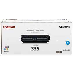【純正品】CANON(キャノン) トナーカートリッジ335C (シアン) 8672B001