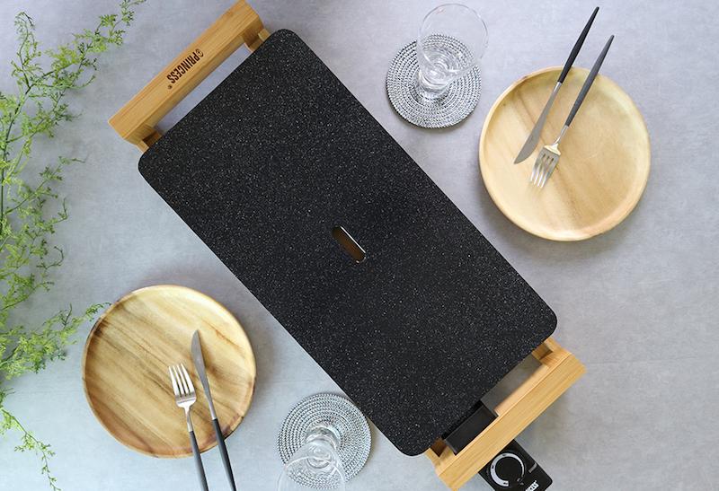 【送料無料・代引き手数料無料】PRINCESS【Table Grill Stone】テーブルグリルストーン/ブラック/ホワイト