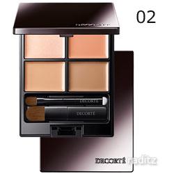 素肌感を美しく引き立てるコンシーラーパレット ベースメイク トーンパーフェクティング パレット# 02 スーパーセール ナチュラルベージュ コスメデコルテ 5g Makeup Base 全品最安値に挑戦 DECORTE