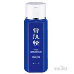 公式ストア 泡だちとうるおいのパウダー洗顔料 雪肌精 ホワイトパウダーウォッシュ セール価格 100g KOSE コーセー SEKKISEI