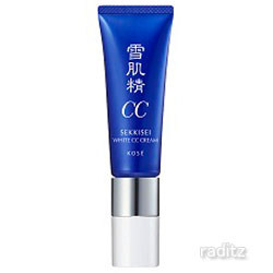 塗ってるほうが肌にいい 正規品送料無料 美白する和漢CCクリーム 雪肌精 ホワイトCCクリーム# 01 予約販売 コーセー やや明るい自然な肌色 KOSE SEKKISEI 30g