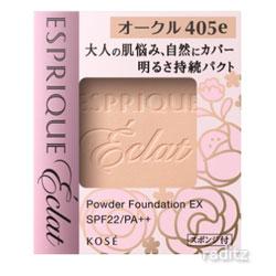 人気商品 見違えるような透明感をもたらす麗しい肌へ エスプリーク エクラ 明るさ持続 パクト EX レフィル # KOSE ESPRIQUE オークル ECLAT 高級な OC-405e 9.3g コーセー