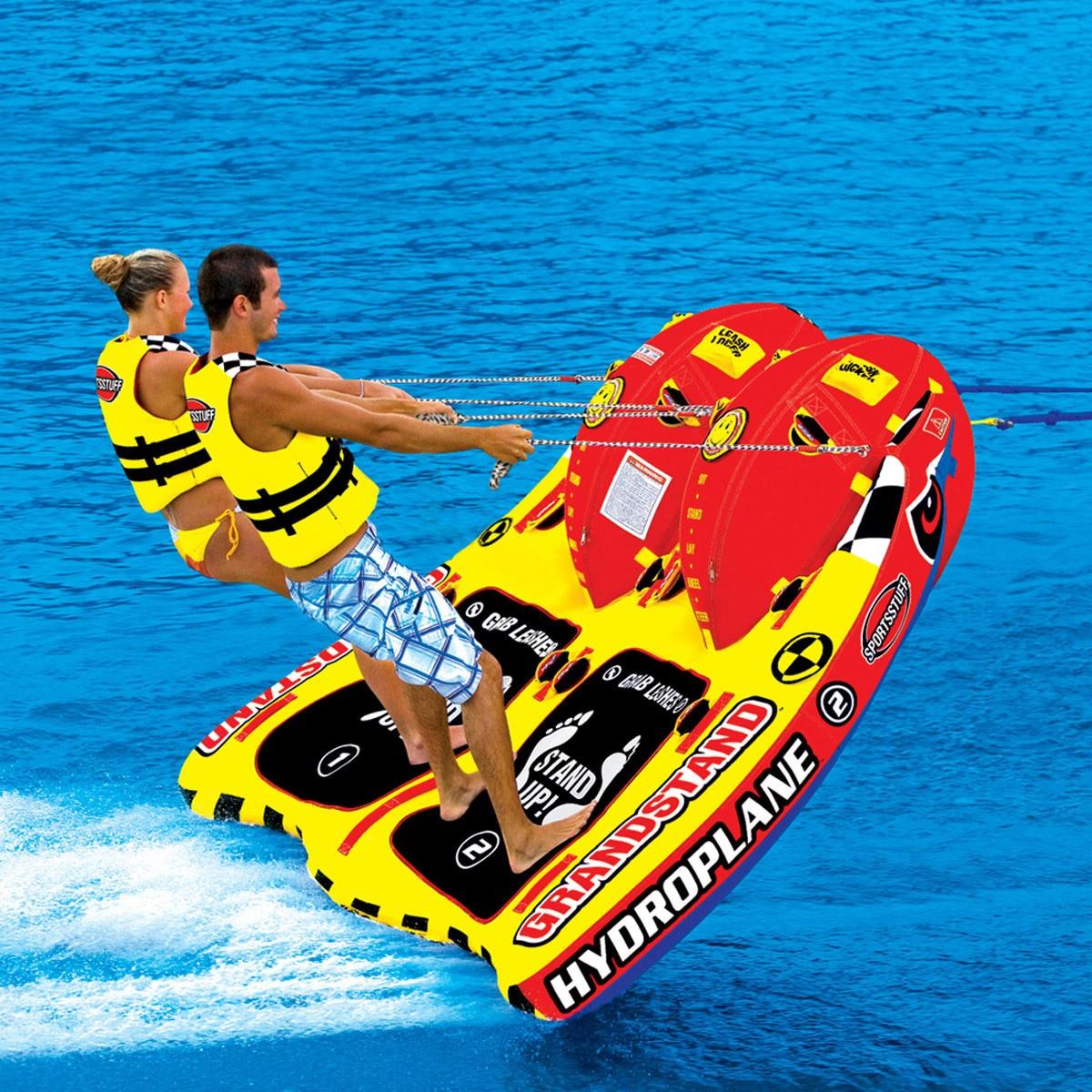 2019 トーイングチューブ バナナボート SPORTSSTUFF スポーツスタッフ GRANDSTAND 2 グランドスタンド2 2人乗り