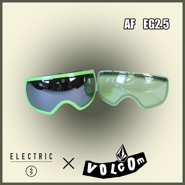 14-15 ELECTRIC エレクトリック VOLCOM ボルコム EG2.5 限定コラボモデル ジャパンフィット 正規品 [スノーボード ゴーグル]ジャパンフィット
