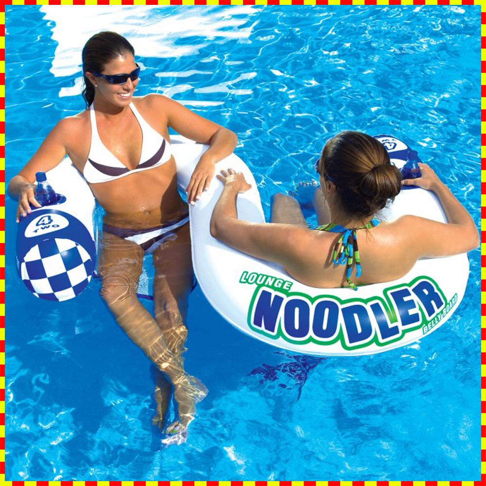 フローティング 完全送料無料 アクアラウンジ 水上 全店販売中 マット NOODLER2 水遊び 2人用 浮輪