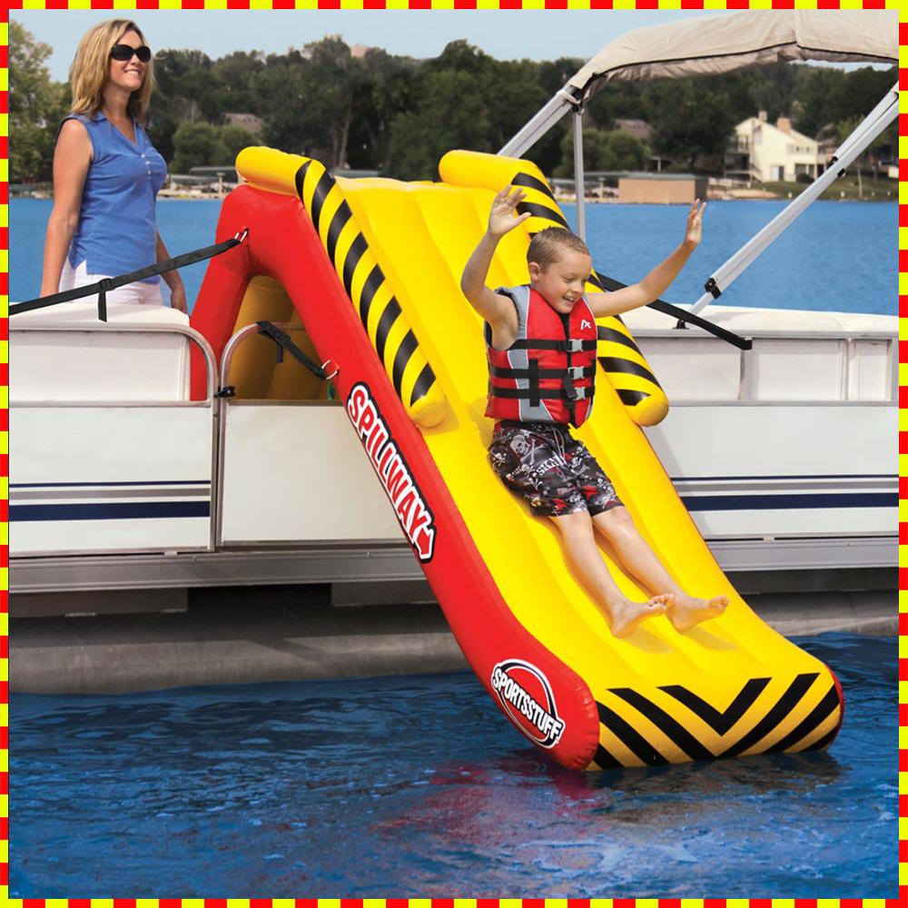 大型 子供用 すべり台 スライダー SPORTSSTUFF SPILLWAY 浮輪 プール